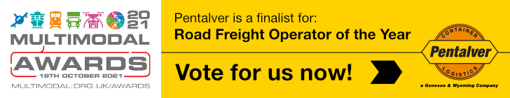 Multimodal 2021 - Vote for us as your Road Haulier of the Year