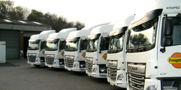 Pentalver and Freightliner new fleet