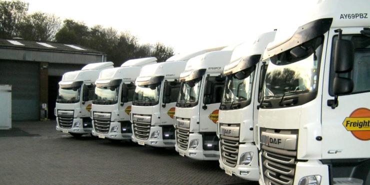 Pentalver and Freightliner new fleet