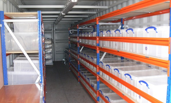Shelving, racking and storage