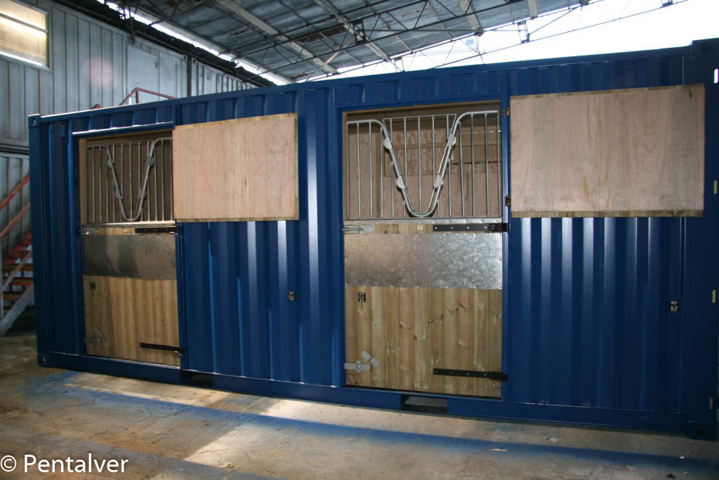 Bespoke Container Conversions Pentalver